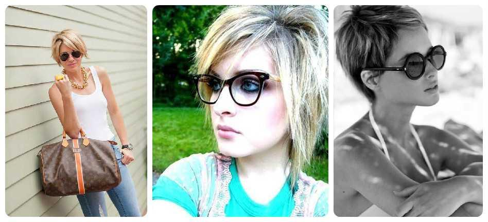 diferentes Vasos de pelo corto