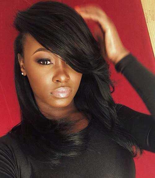 Pretty Girls negro con el pelo largo-10