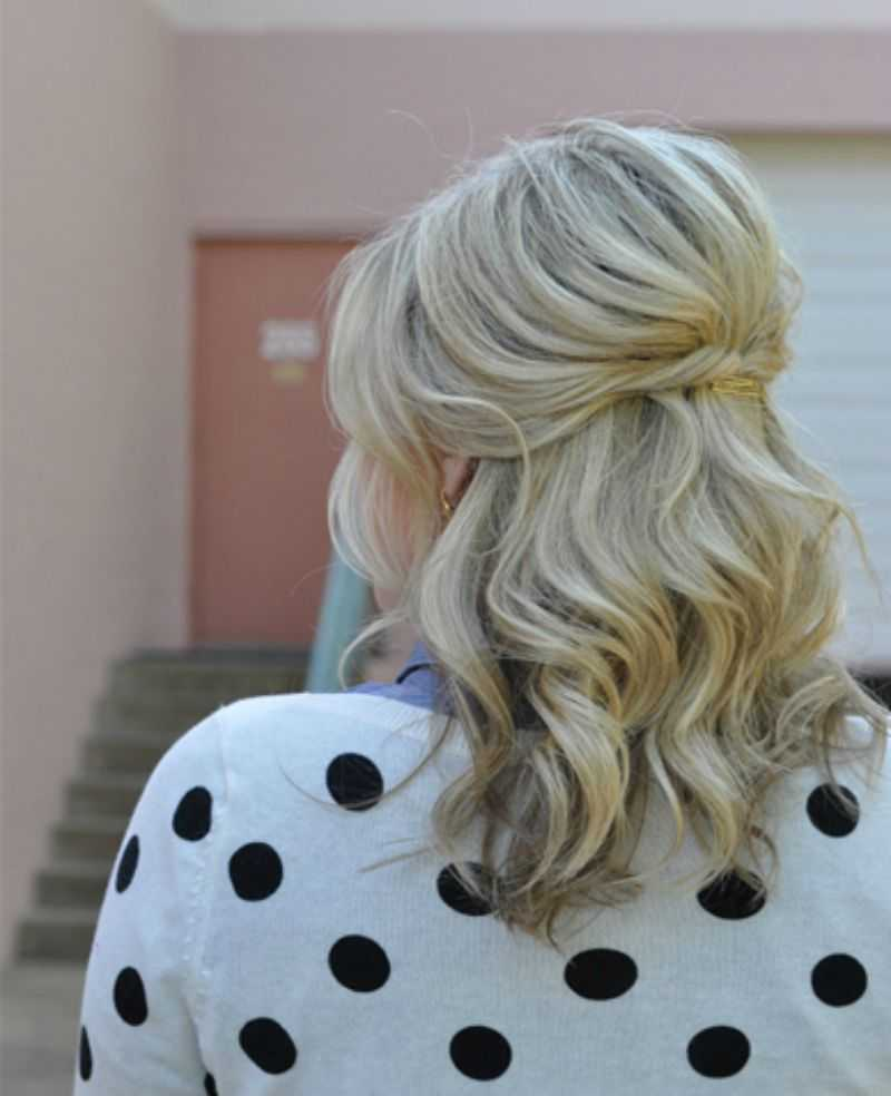 cortes de pelo de longitud media hasta la mitad