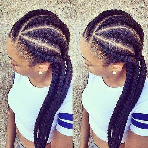 Las trenzas de pelo africano-14