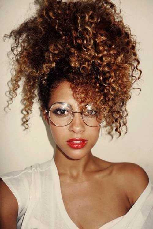 Los peinados para niñas negras con pelo largo-17