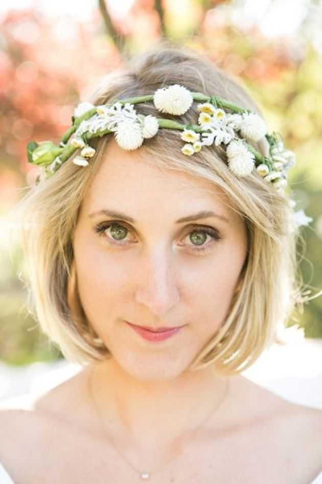 cortes de pelo corto para la boda