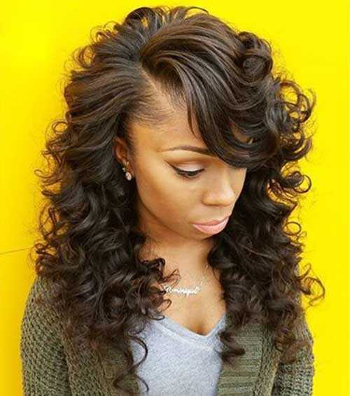 Pretty Girls negro con el pelo largo-19
