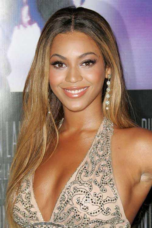 Celebrity peinados largos 2015-19