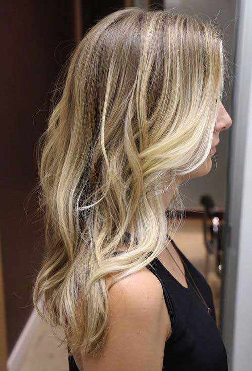 Cortes de pelo para el pelo rubio largo-20