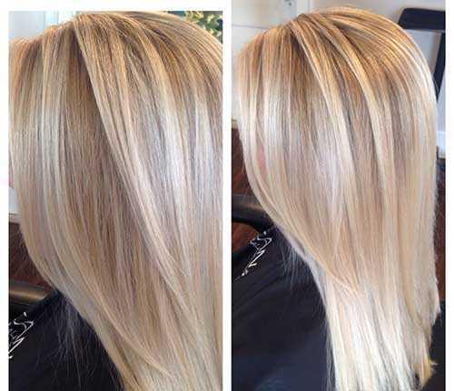 Cortes de pelo para el pelo rubio largo-21