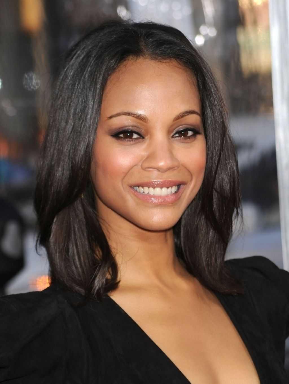 afroamericano longitud media peinados