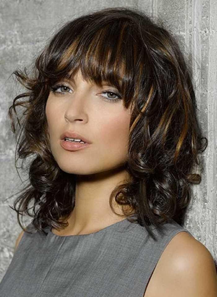 moda peinados medio de longitud