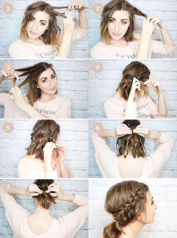 cortes de pelo de longitud media para la escuela