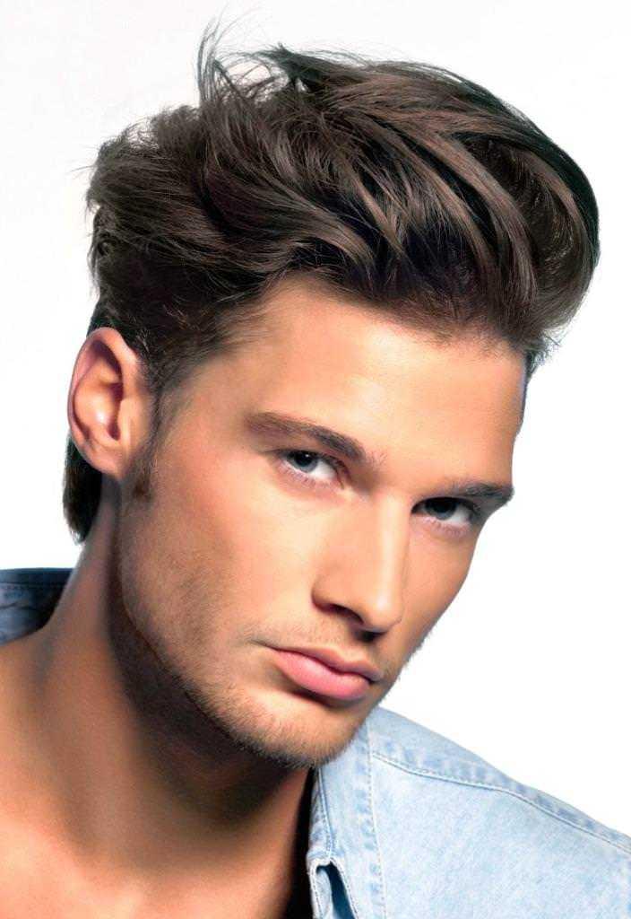 peinados rectas para los hombres