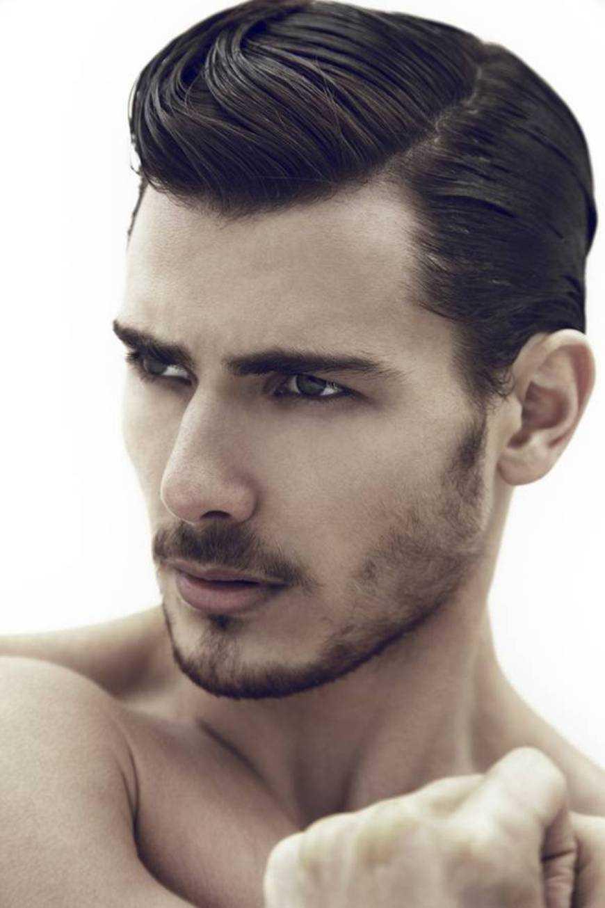 peinados halcón de imitación para los hombres