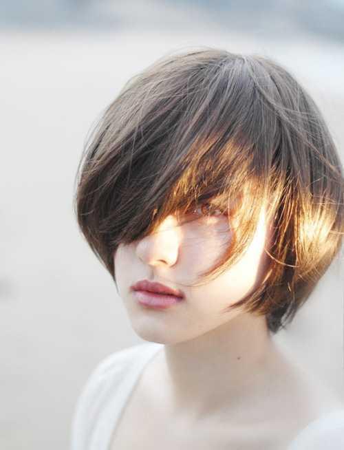cortes de pelo corto coreano