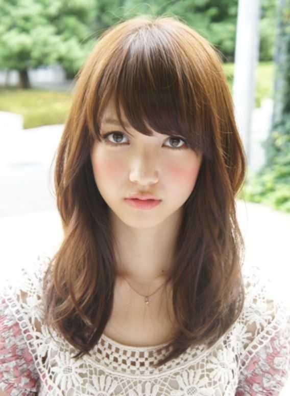 longitud media peinados coreano