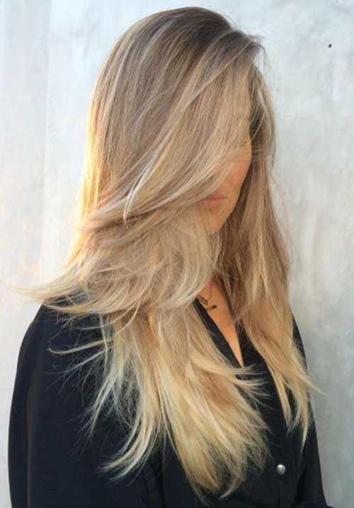 Cortes de pelo para el pelo rubio largo-8