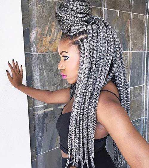 peinados trenzas para el pelo africano