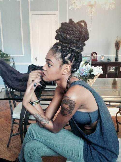 Mujeres africanas peinado