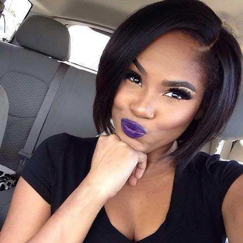 Estilos de pelo de la mujer Negro