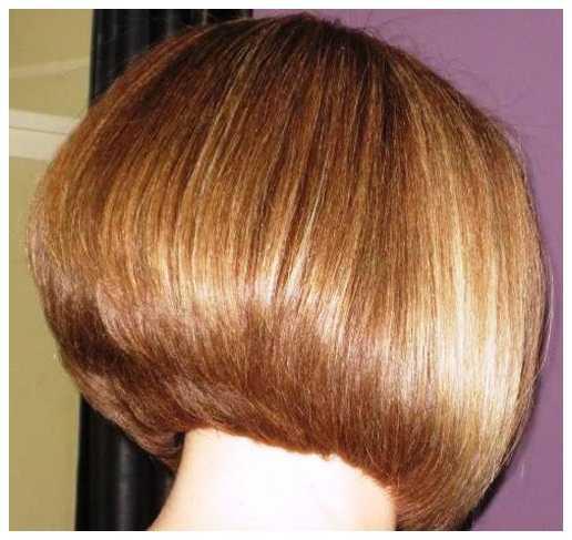 Bob cortes de pelo Brunette Bob cortes de pelo para las muchachas 516