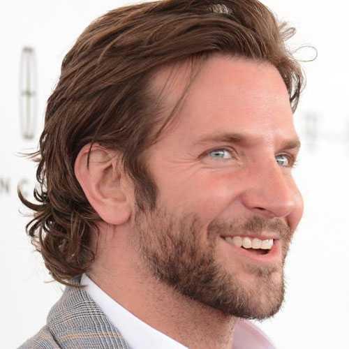 Bradley Cooper pelo largo
