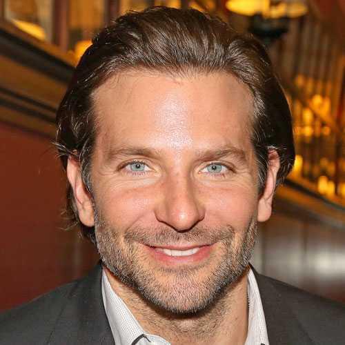 Bradley Cooper largos peinados