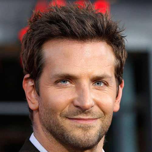 Bradley Cooper pelo corto y la barba