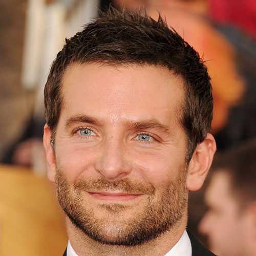 Bradley Cooper cortes de pelo corto