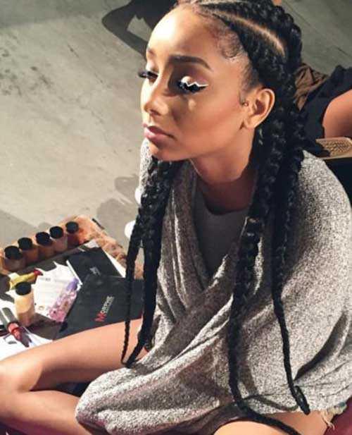 Las trenzas para el pelo africano