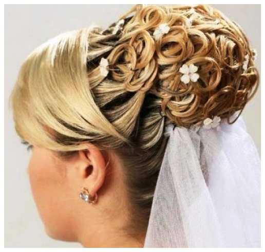 peinados de novia 2013 Updo peinados de novia Accesorios