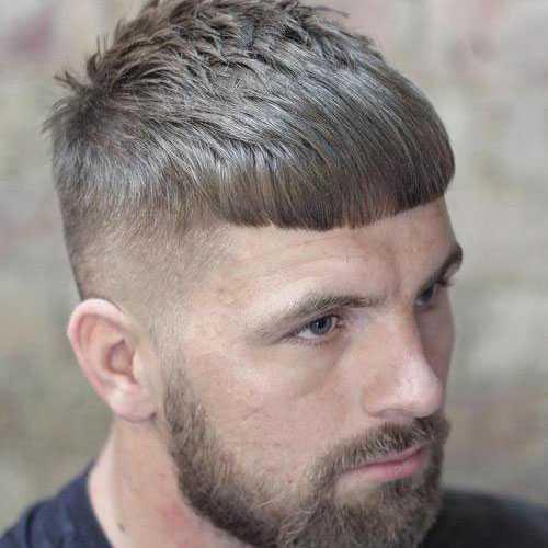 César corte de pelo con Fade