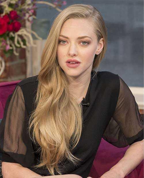 Celebrity largo peinados 2015