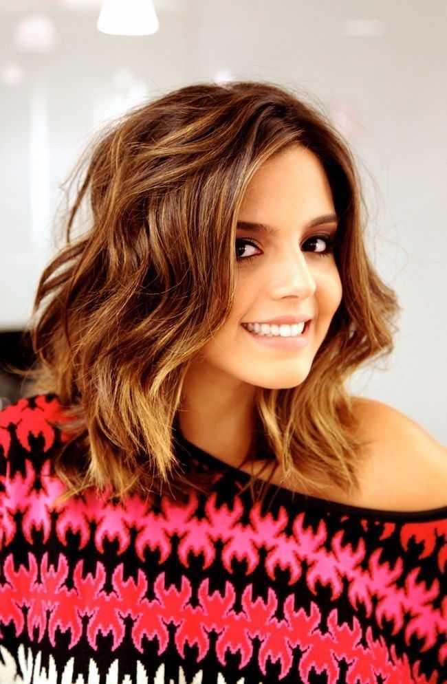 peinados caen lindo para Medio pelo