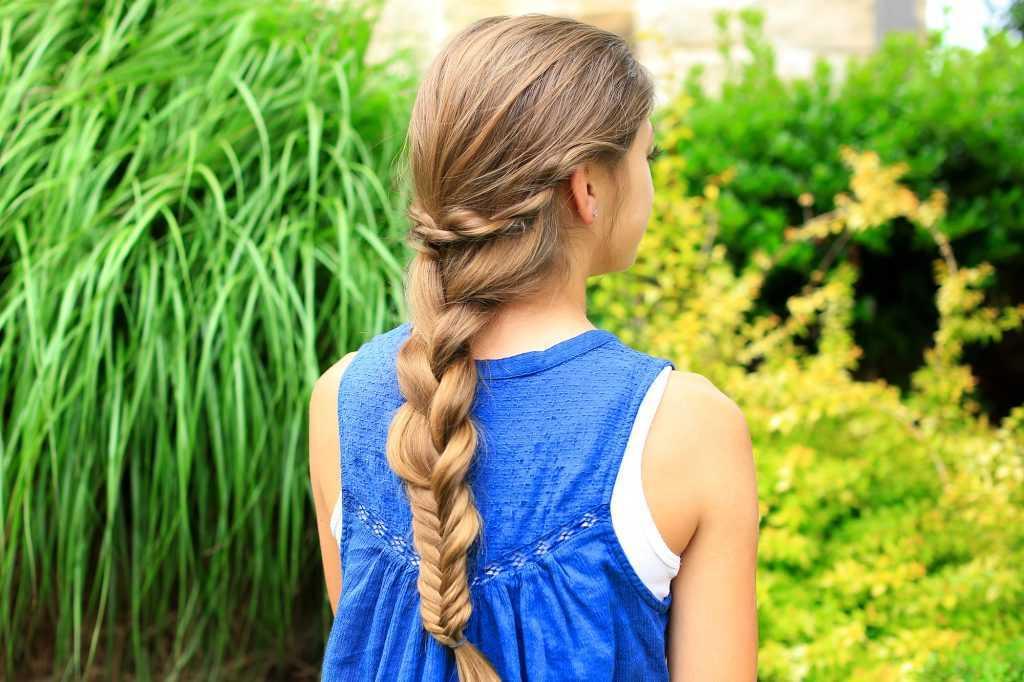 cuerda toque la trenza Combo | linda chicas peinados