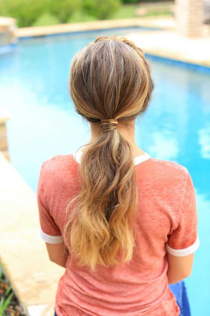 Twisted Rope con banda de sujeción | | Cola de caballo de las muchachas linda peinados