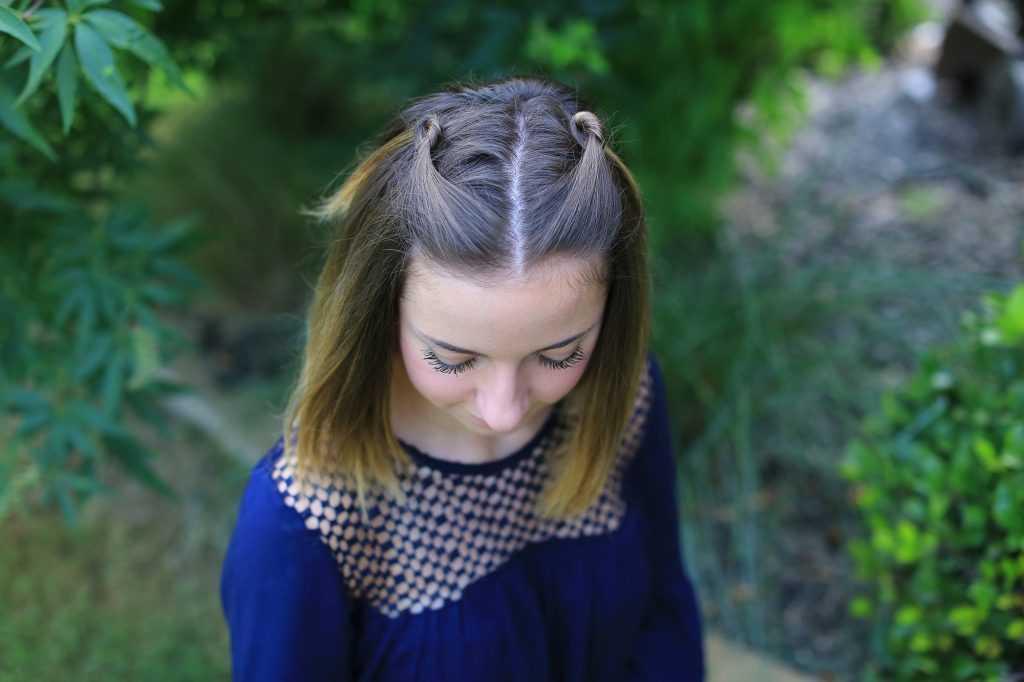 doble nudo Pullback | Lindo chicas peinados | Legalmente