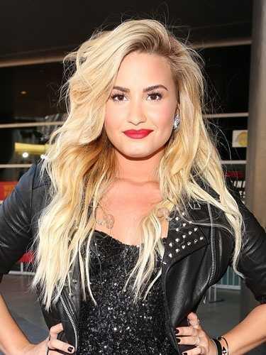 Demi Lovato Despeinado Trenzas