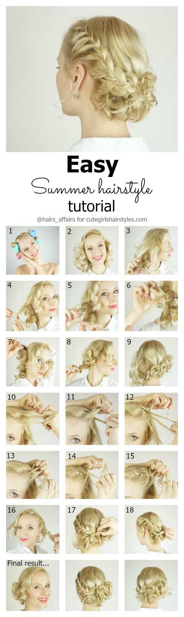 peinado sencillo tutorial verano