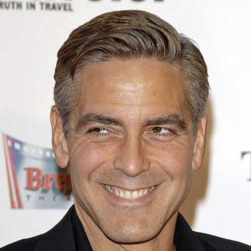 George Clooney peinado