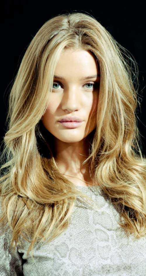 peinados para el pelo largo rubio