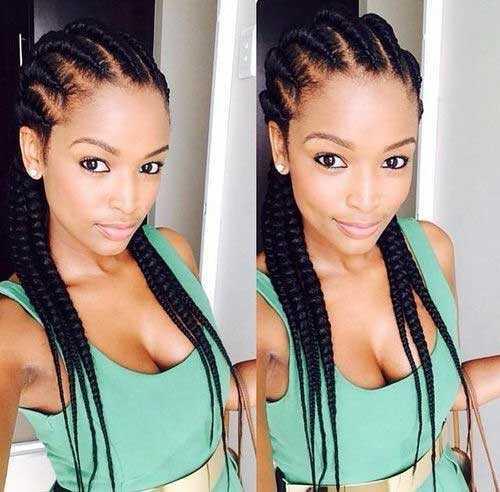Los peinados para las mujeres africanas