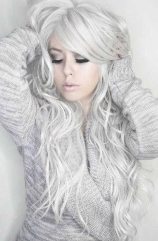 estilos de cabello gris inspirador para las mujeres que tratan de 20.160.011