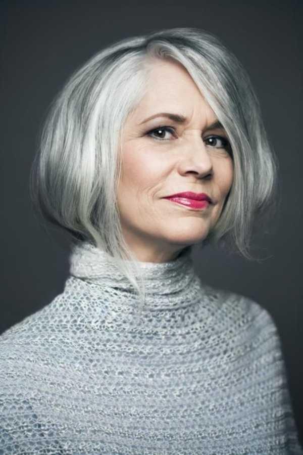 estilos de cabello gris inspirador para las mujeres que tratan de 20.160.081