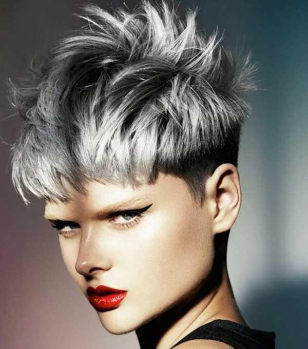 estilos de cabello gris inspirador para las mujeres que tratan de 20.160.181