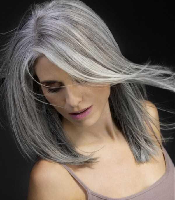 estilos de cabello gris inspirador para las mujeres que tratan de 20.160.201