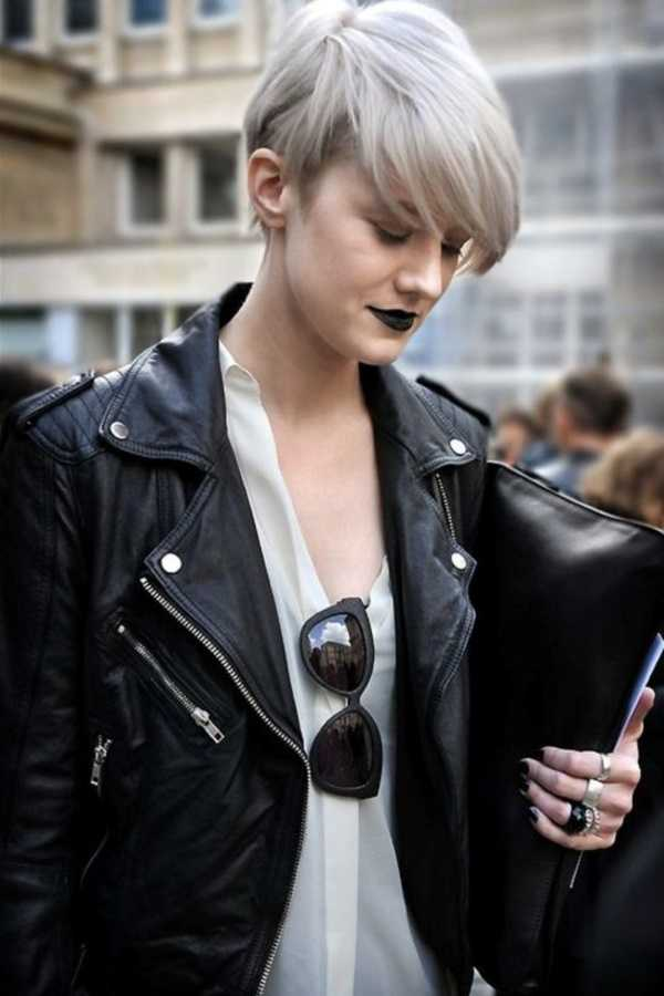 estilos de cabello gris inspirador para las mujeres que tratan de 20.160.291
