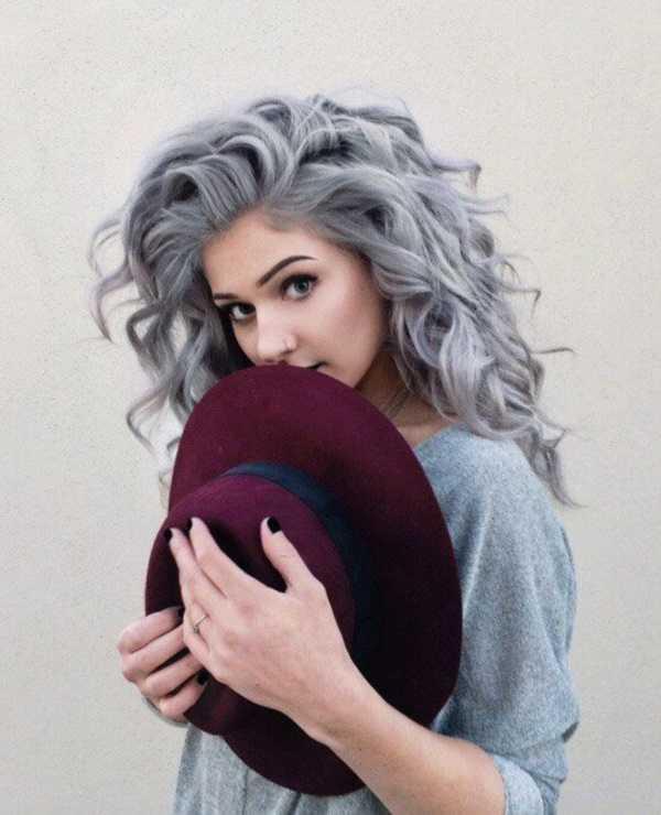 estilos de cabello gris inspirador para las mujeres que tratan de 20.160.351