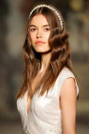 Jenny Packham primavera de 2016. Los peinados de boda