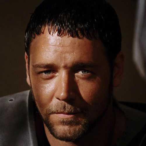 Julio César corte de pelo