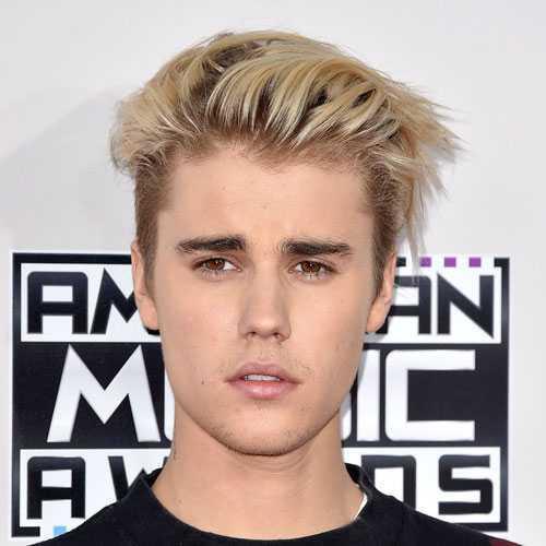 Justin Bieber peinado