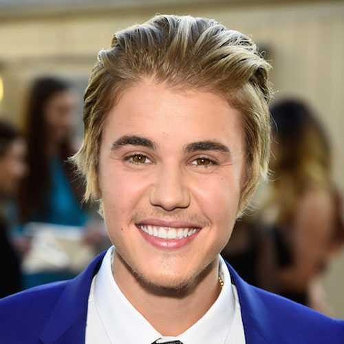 Justin Bieber corte de pelo largo y la barba