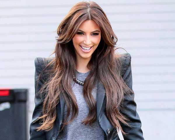 pelo largo Kim Kardashian 600